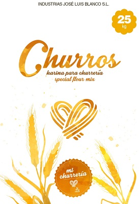 Harina especial Churros (Saco de 25 kilos)