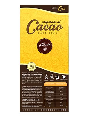 Preparado al Cacao Mi Churrería ORO (Caja de 12 Kg)